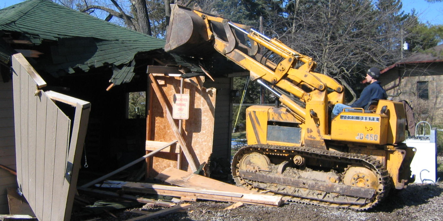 Structure Demolition –  Exact Excavating, LLC