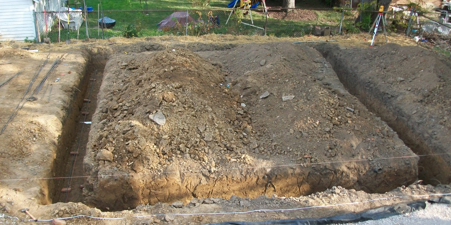 Footer Excavation – Exact Excavating, LLC