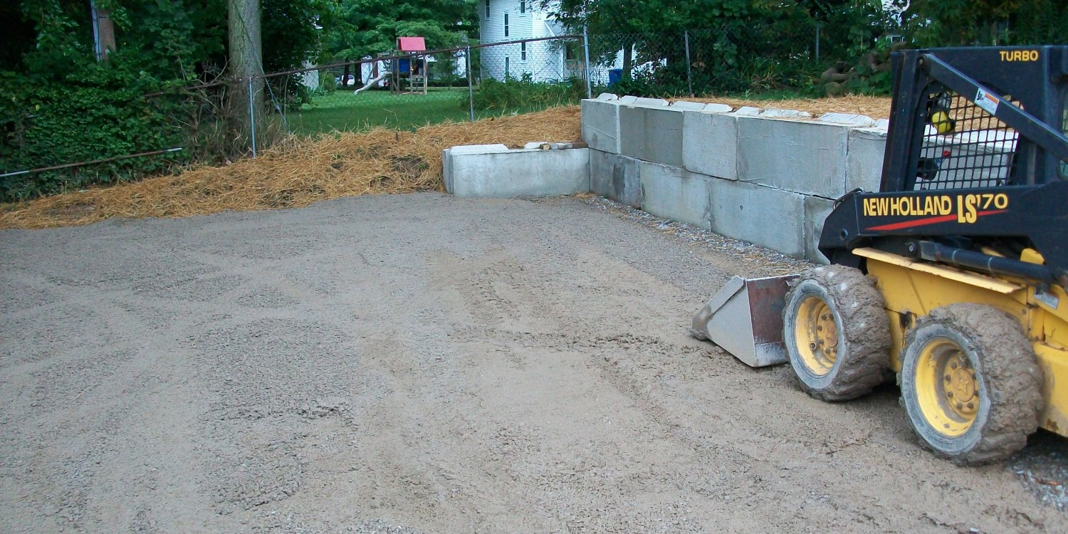 Retaining Walls – Exact Excavating, LLC