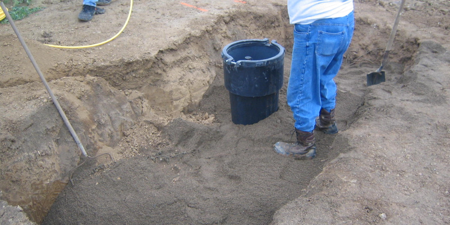 Underground Utility Installation - In Ground Propane Tank - Exact Excavating, LLC